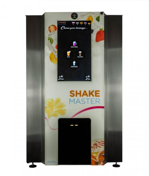 "protein shake automat, proteinshake machine - Increase your turnover with our new Shake-Master a ""World novelty"", The solution for ""Ice cold"" Fitness & Health shakes!"